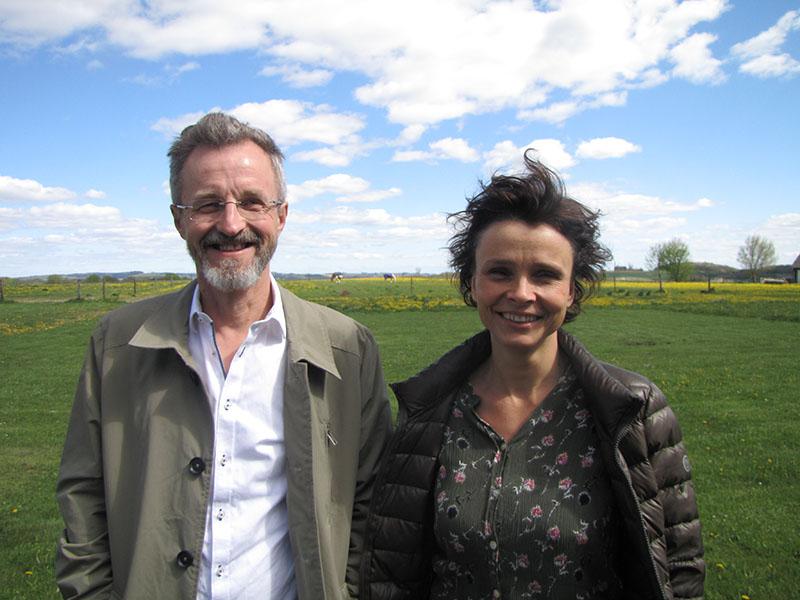 Stoa Gruppen ledere Anders Madsen og Heidi Sørensen