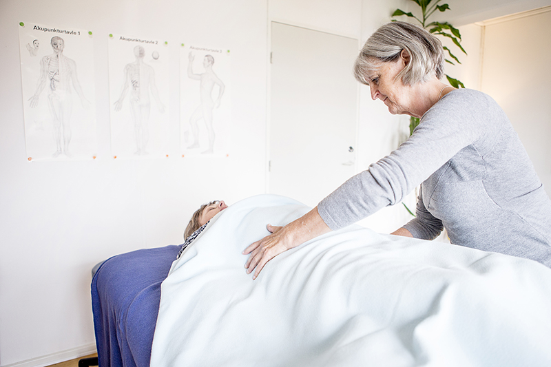 Stoa Gruppens behandlingsmetoder - massage