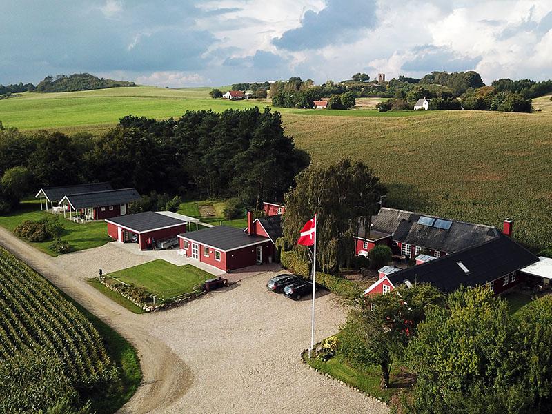 Luftfoto af Stainagaard